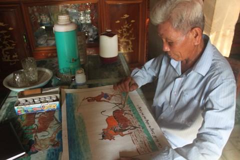 Người vẽ trạng cuối cùng làng Huỳnh Công