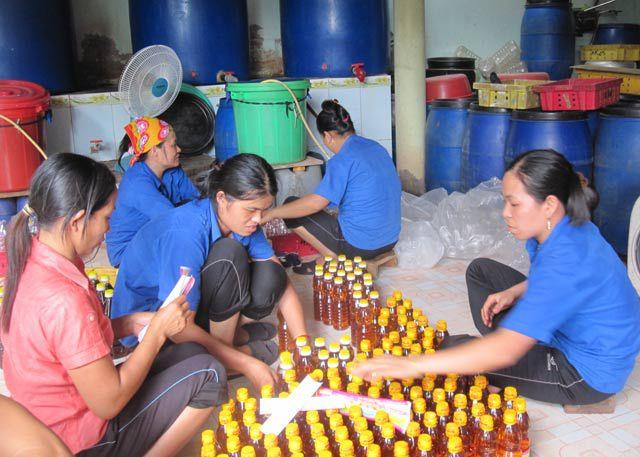 Nước mắm Huỳnh Kế Cửa Tùng Quảng Trị