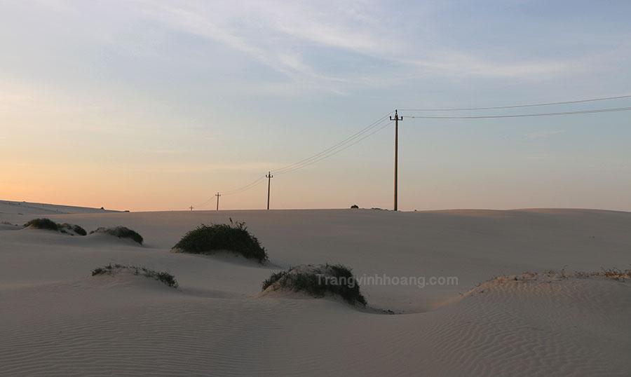 đồi cát ở vĩnh tú